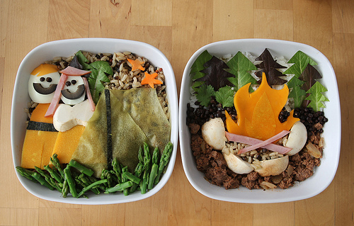 Side By Side: My First Bentos