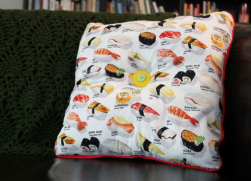 Craft: Swedish Sushi Pillow