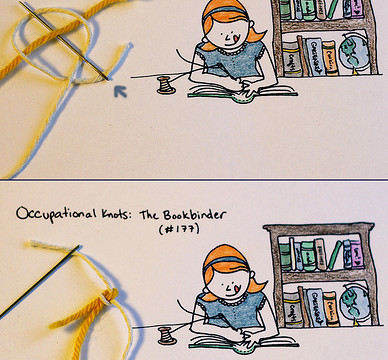 Frayed Knot: The Bookbinder