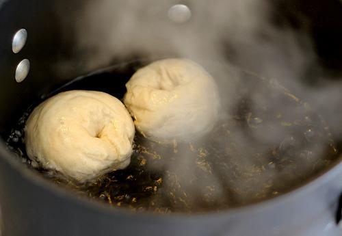 Boiled Bagels!