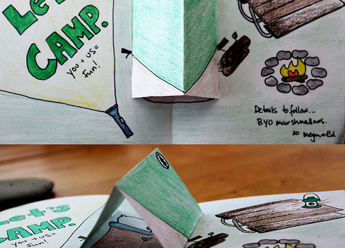 Basic Pop-Up Card: The Tent