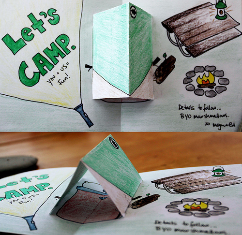 Pop-Up Card Inside!