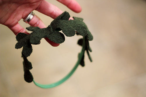 Mistletoe Headband!