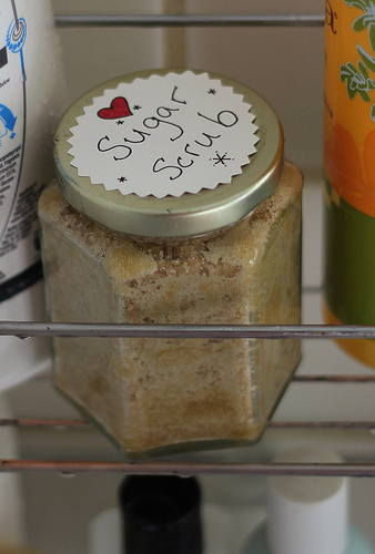 Homemade Sugar Scrub!