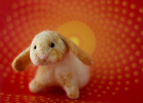 Happy Year of the Felted Rabbit