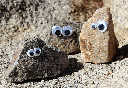 Camping Craft: Rock Friends