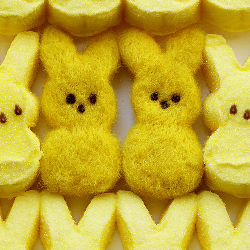 Needle-Felted Easter Marshmallow Candies