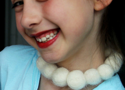 Playing Dress-Up with Fancy Felted Jewelry