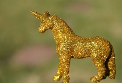 """Sparkle Ponies"" (or Making a Glittery Unicorn)"