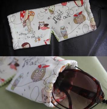 Travel Craft: 2-in-1 Sunglasses case/Sleeping mask