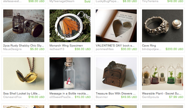 Love & Locket in Your Pocket: An Etsy Treasury