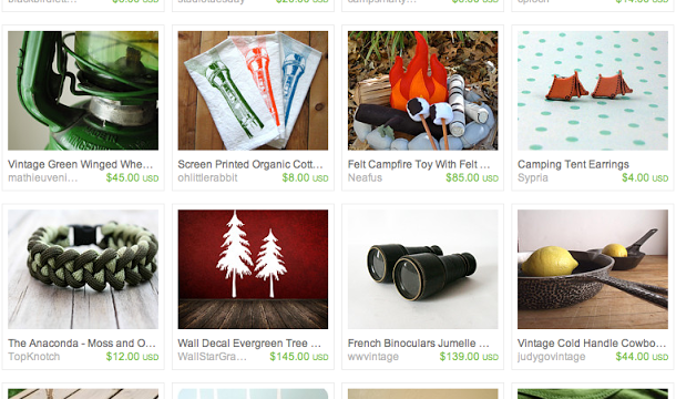 Gone Camping! An Etsy Treasury