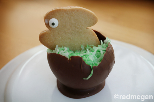 Holiday Food Crafts: Edible Easter Cups!