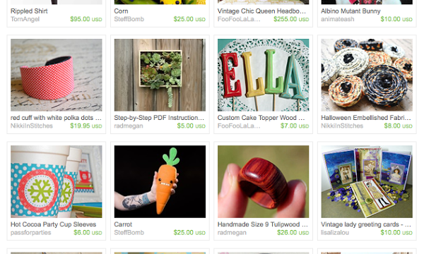 Craft Wars: The Etsy Treasury