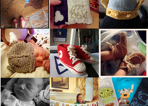Handmade Treasures for a New Baby Boy