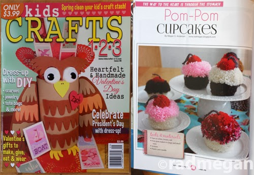 Pom-Pom Cupcakes for Kids Craft 123