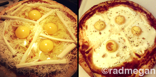 Baked Egg Pizza: A Tasty Experiment