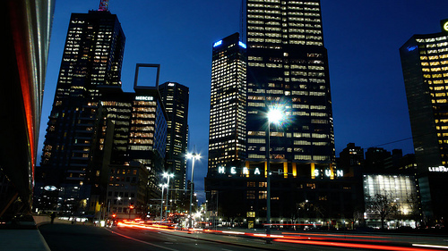 Photo Saturday: Melbourne at Night