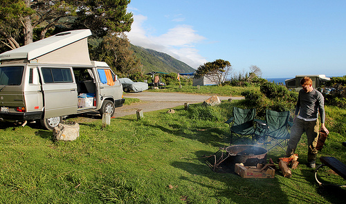 Photo Saturday: Camping in Big Sur