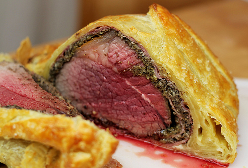 Gordon Ramsay loves a Beef Wellington…