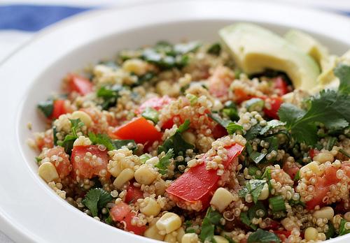 Lime and Cilantro Quinoa Salad