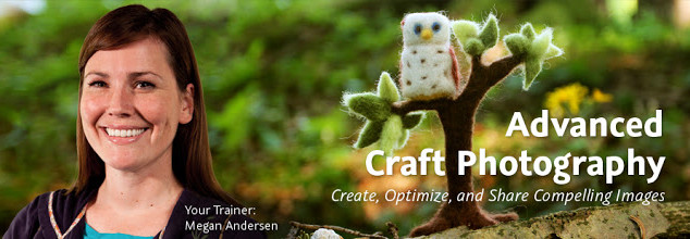 My Advanced Craft Photography Course is NOW AVAILABLE!