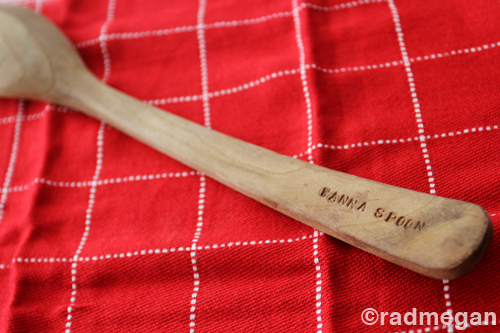 Quick Craft: Wooden Spoon Love Notes