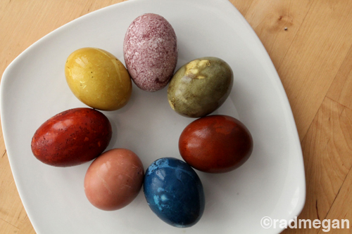 Natural Egg Dye: A Rainbow of Options