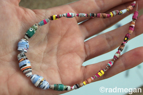 Travel Crafts: Making Paper Beads
