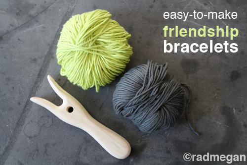 Easy-to-Make Friendship Bracelets