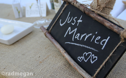 Countrified Chalkboards for an Autumn Wedding