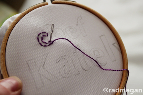 Craft Tip: Embroidery Transfer