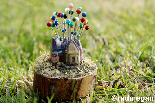 Movie Inspired Craft: The UP House Pincushion