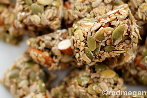 Heart-Healthy Treats: Seed & Nut Energy Bars