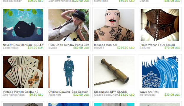 The Mariner's Revenge: An Etsy Treasury!