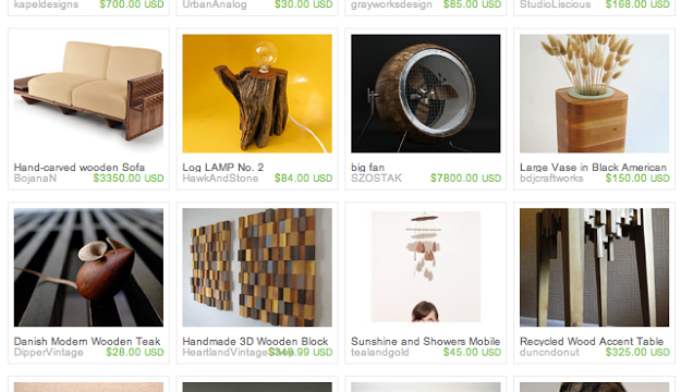 The Good (wood) Life: An Etsy Treasury