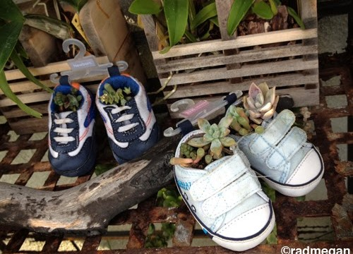 New Uses for Useless Newborn Shoes