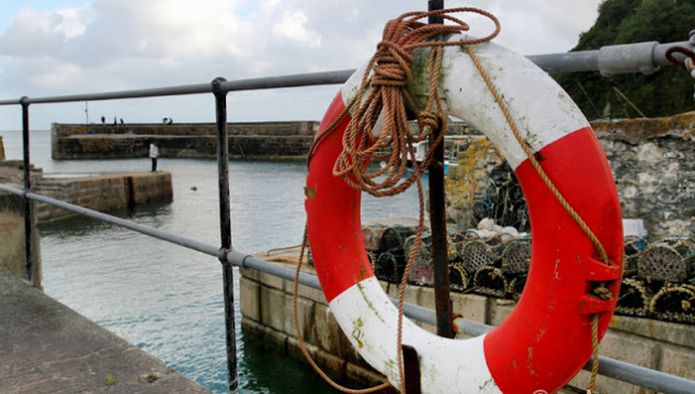 Photo Saturday: Charelston Harbour, Cornwall England