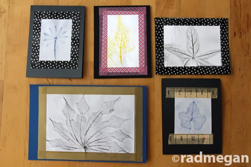 Post-Feast Activity: Leaf Rubbing Greeting Cards