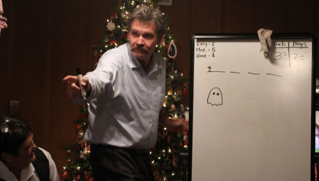 Photo Saturday: Christmas Eve Pictionary