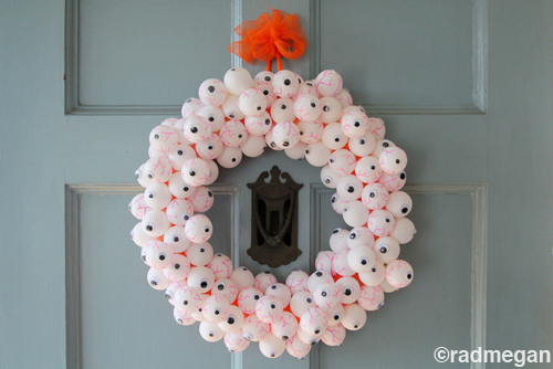 Guest post on eHow: A Glow-in-the-dark Eyeball Wreath