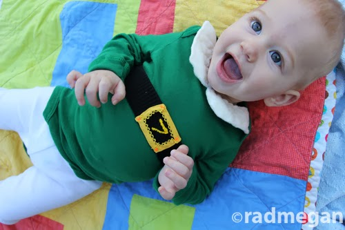 7-Month Onesie: The Holiday Edition