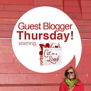 Guest Blogger Thursday: Weathered Wood Shelf