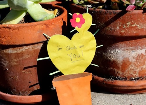 Stuck On You: A Valentine for Garden Lovers