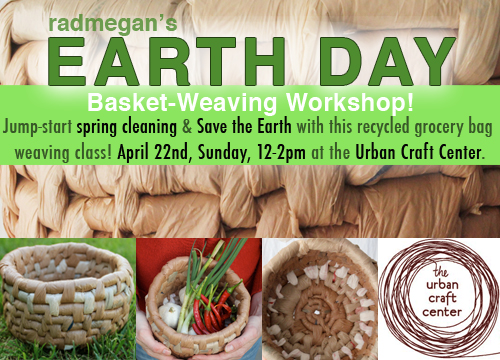 Earth Day Craft Workshop!