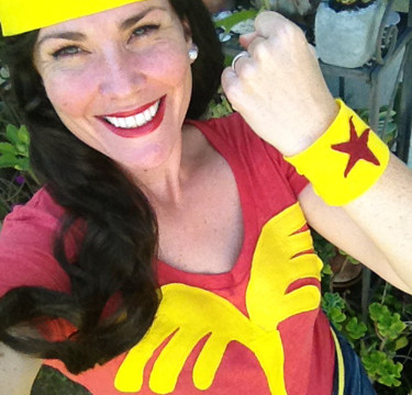 The Ten Dollar, Two Hour DIY Wonder Woman Halloween Costume