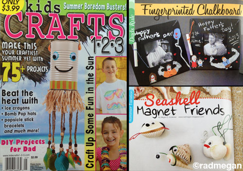 New Articles in Kids Crafts 123: Summer Craft Issue!!