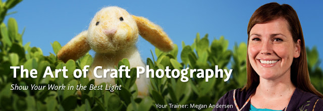 The Art of Craft Photography Video Training by Radmegan