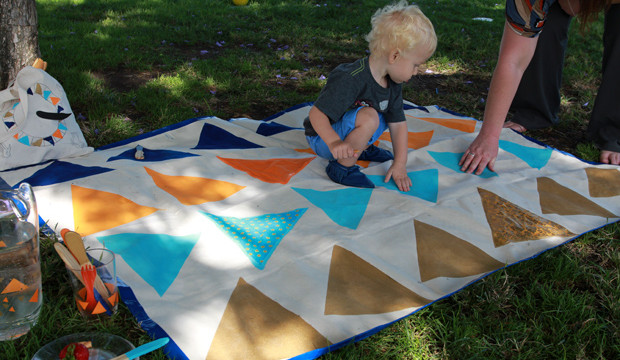 Picnic Blanket with a Twist!