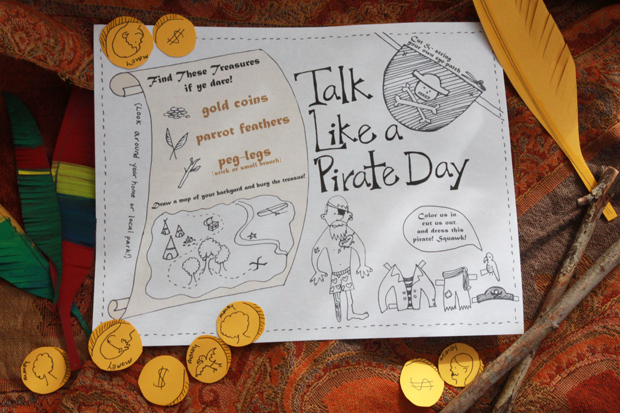 PirateTalkDay-activitysheetwithfeatherscoinssticks-ehow